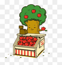 卖苹果的苹果树