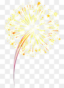焰火鞭炮庆祝新年活动