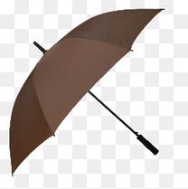 长柄雨伞自动开收黑胶天堂伞