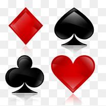 扑克牌四花色