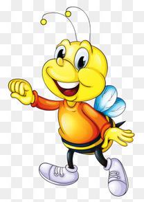 卡通黄色小蜜蜂