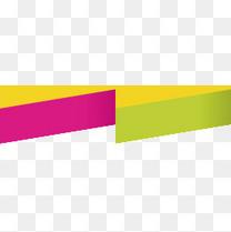 彩色不规则文本框