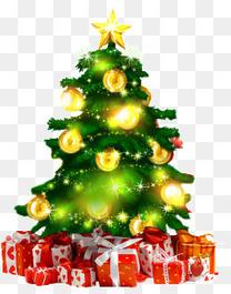 圣诞树与礼物盒