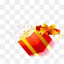 爆炸式惊喜礼物盒