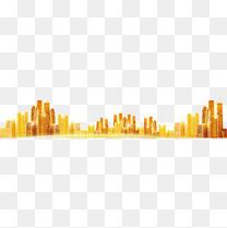 黄金城市背景