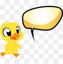 小鸭子会话框