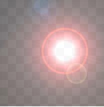 太阳光效光晕素材