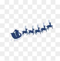 架马车的圣诞公公