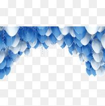 漂浮气球拱形门