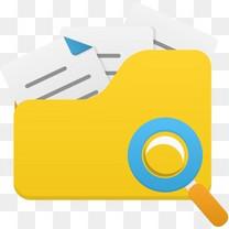 打开文件夹的搜索图标