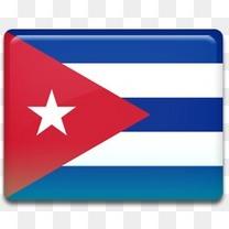 古巴国旗图标