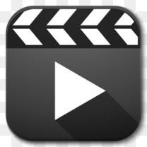 应用程序播放器视频图标