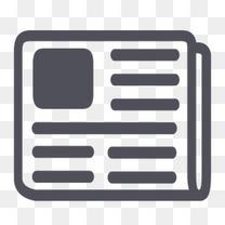 博客饲料新闻报纸RSS灰色应用类型