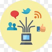 博客通信连接互联网网络营销笔记本电脑管理网络新闻在线营销RSSSEO社交媒体Web泡沫搜索引擎优化和互联网营销2 -免费