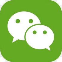 中国中国人腾讯微信我国社会分享图标