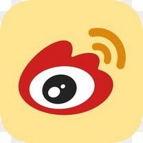 中国中国人新浪微博我国社会分享图标