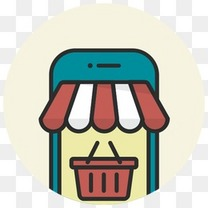在线购买电子商务移动网上商店电话店购物篮店支付6