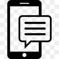 手机发短信图标