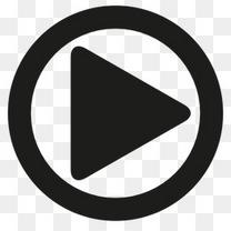 视频播放按钮图标