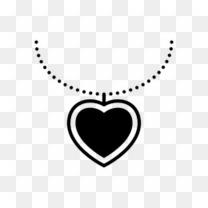 心形项链图标