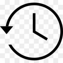 备份圈时钟历史机最近的时间表时间定时器庙