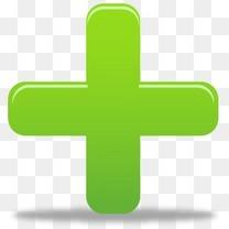绿色加号图标