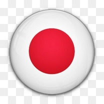 国旗日本对世界标志图标