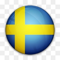 国旗对瑞典世界国旗图标