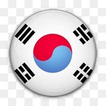 国旗韩国对南世界标志图标