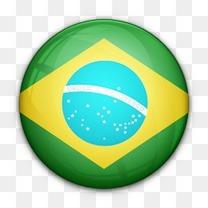 巴西国旗对世界标志图标