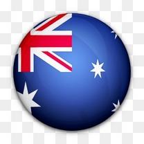 澳大利亚国旗对世界标志图标