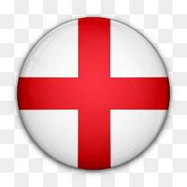 英格兰国旗对世界标志图标