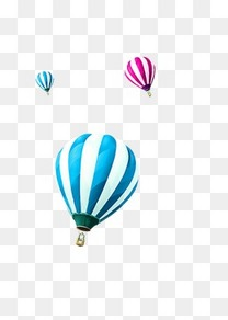 炫彩热气球