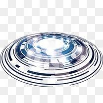 抽象圆环科技感线条圈圈