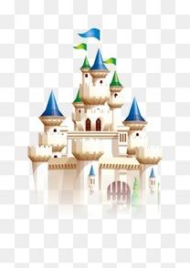卡通梦幻童话式城堡