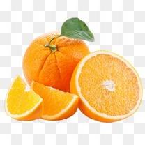 水果橙子素材元素