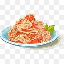 食物手绘食物 美食 卡通食物 插画