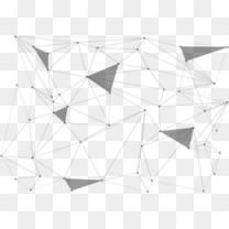 抽象几何线条图案