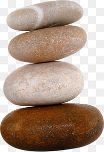 鹅卵石叠石