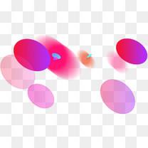双十一炫彩圆圈背景