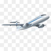 飞翔的飞机