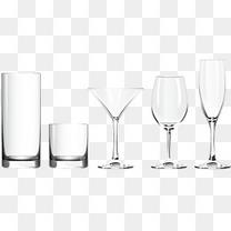 精美玻璃杯设计矢量素材