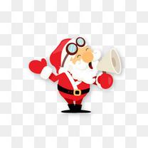 戴帽子的圣诞老人