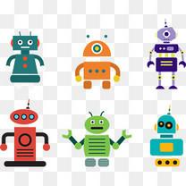 矢量图小机器人