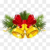 金色圣诞铃铛