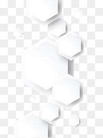 白色扁平图案