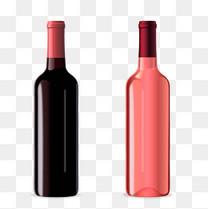 矢量红酒瓶