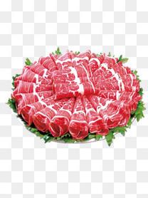 火锅羊肉卷