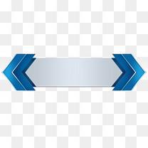 蓝色标题栏