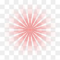 红色渐变放射光